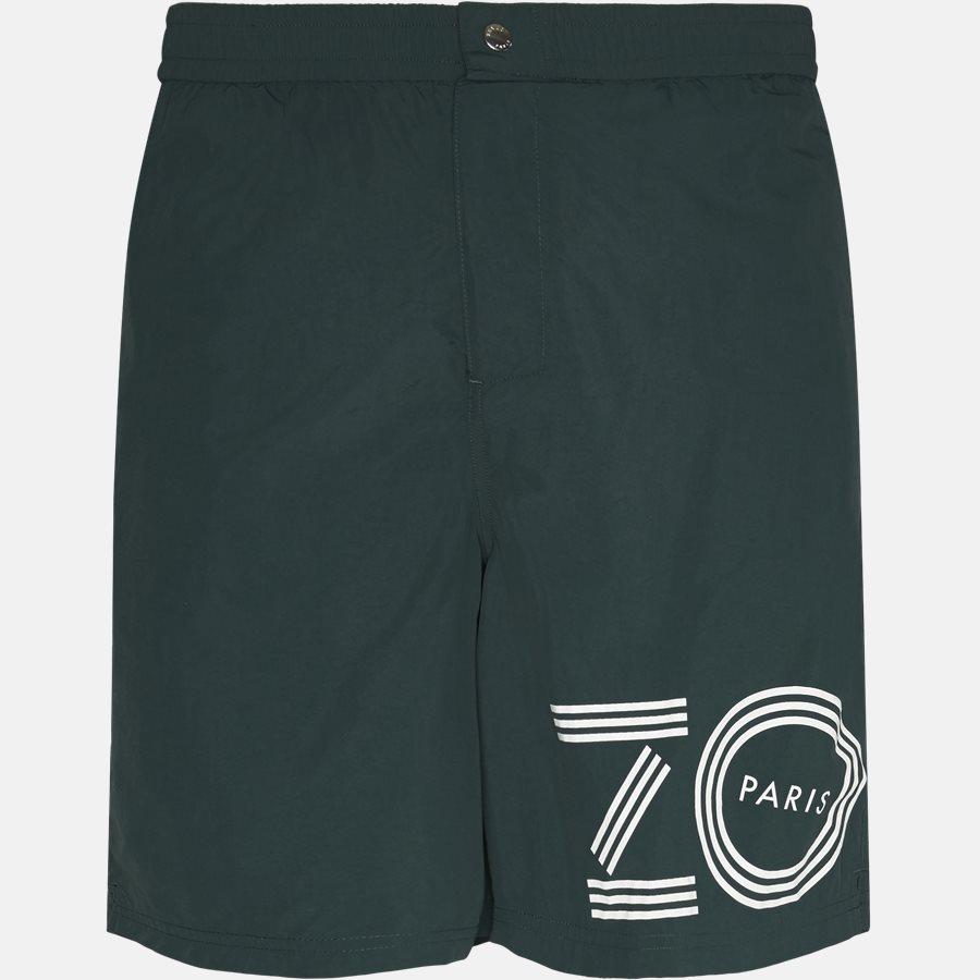 5BA208 - Shorts - Regular fit - BOTTLE GREEN - 1